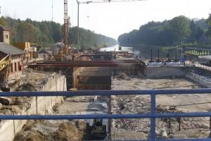 Bauarbeiten Schleuse Kersdorf 2011