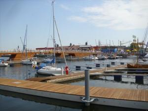 Neue Marina in Stettin Foto: RR