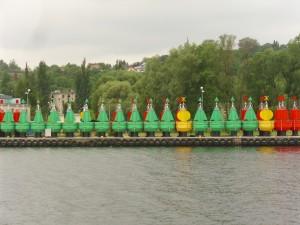 Positionen für die Wasserstraße Bild: RR